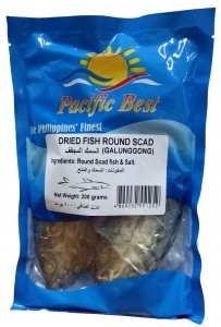 PACIFIC BEST DRIED FISH ROUND SCAD (GALUNGGONG) 200G