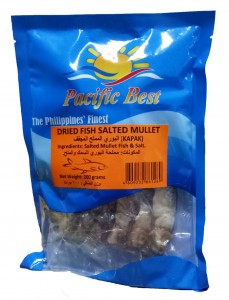 PACIFIC BEST DRIED FISH SALTED MULLET (KAPKAP) 200G