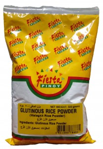 FIESTA PINOY GLUTINOUS RICE POWDER 500G