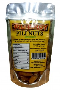 PILI PINOY PILI NUT SWEETENED 75G