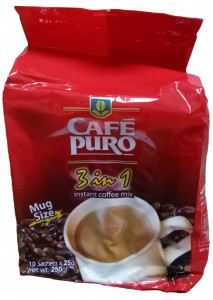 CAFE PURO 3IN1