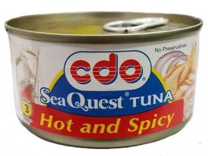 CDO SEA QUEST TUNA HOT AND SPICY 180G