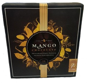 CEBU BEST MANGO CHOCOLATE 12PCS