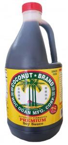 COCONUT BRAND PREMIUM SOY SAUCE GALLON