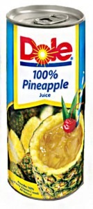 DOLE 100 PINEAPPLE JUICE
