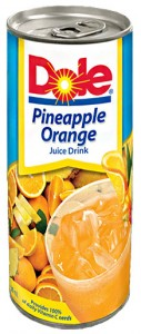 DOLE PINEAPPLE ORANGE JUICE DRINK
