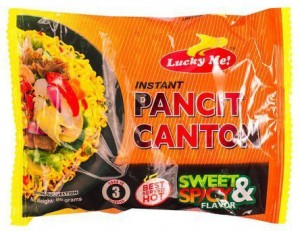 LUCKY ME PANCIT CANTON SWEET & SPICY 80G