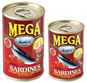MEGA SARDINES HOT