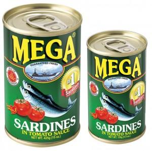 MEGA SARDINES IN TOMATO