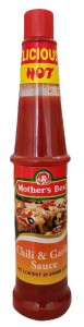 MOTHER'S BEST CHILI & GARLIC SAUCE 95G