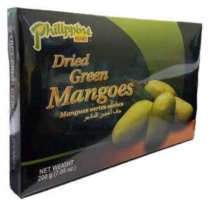 PHILIPPINES BRAND DRIED GREEN MANGOES 200G