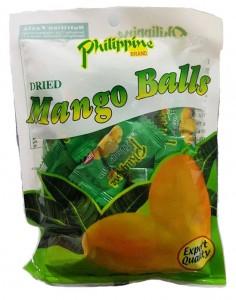 PHILIPPINES BRAND DRIED MANGO BALLS 100G