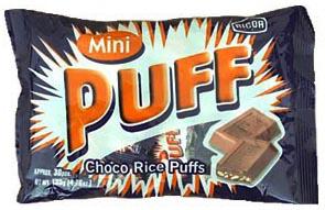 RICOA CHOCO RICE PUFFS 30PCS