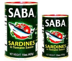 SABA SARDINES IN TOMATO SAUCE