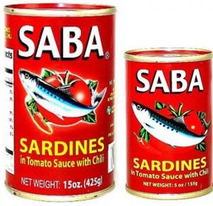SABA SARDINES IN TOMATO SAUCE WITH CHILI