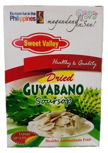 SWEET VALLEY DRIED GUYABANO SOURSOP 100G