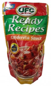UFC READY RECIPES CALDERETA SAUCE 200G